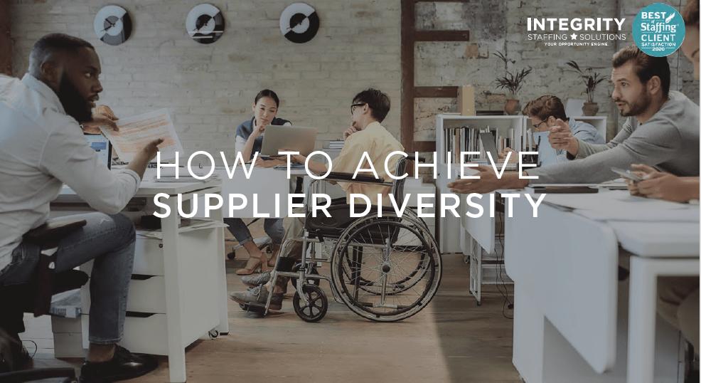 Supplier Diversity Checklist