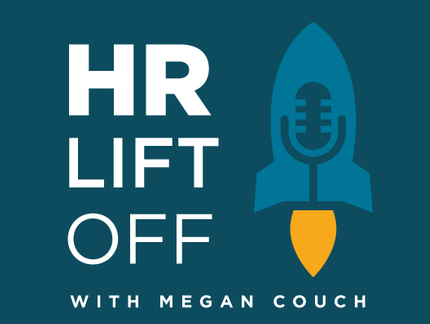HR Lift Off With Megan Couch Logo